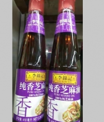 实体批发李锦记纯香芝麻油-410ml*12瓶连锁供应报价245.00元