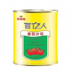 实体批发佰亿人凤球唛番茄沙司-3kg*6罐连锁供应报价175.00元