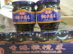 实体批发香港蓬盛橄榄菜-180g*12瓶连锁供应报价52.00元