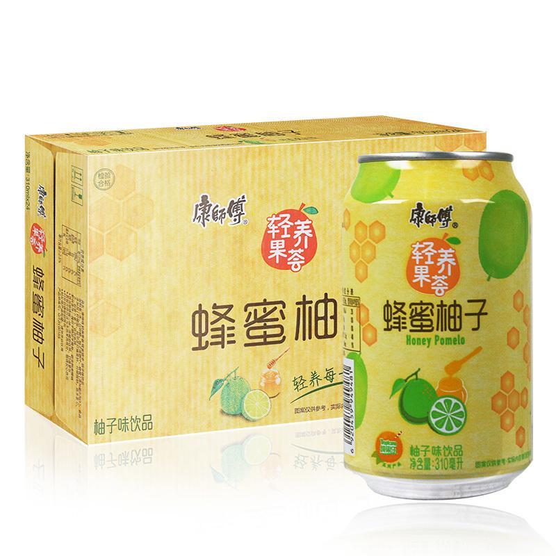 实体批发康师傅蜂蜜柚子-310g*24瓶连锁供应报价41.00元